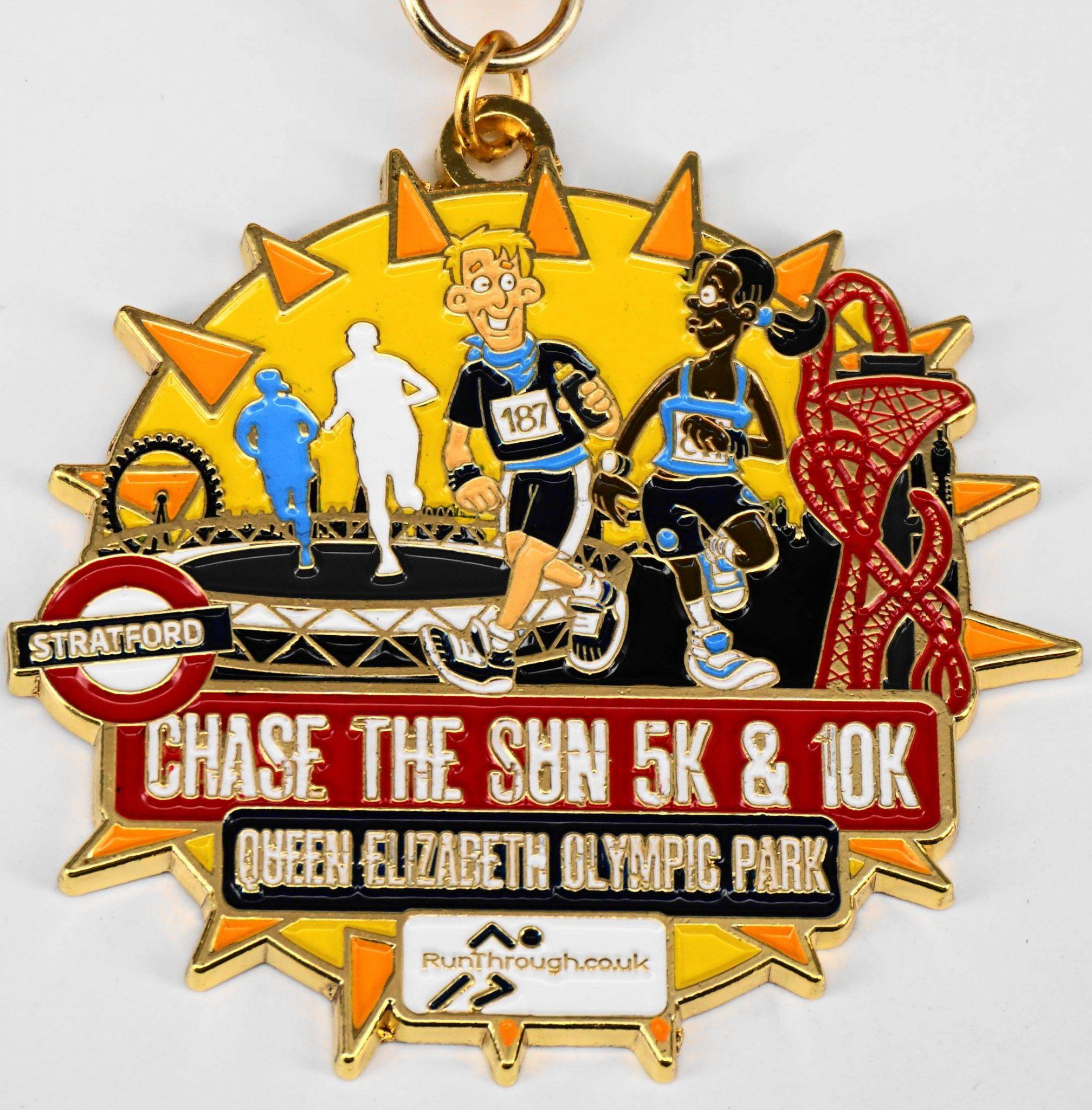 Chase The Sun Queen Elizabeth Olympic Park 5k 10k June 2018