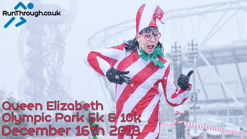 Christmas Run Park.Christmas Olympic Park 5k 10k December 2018