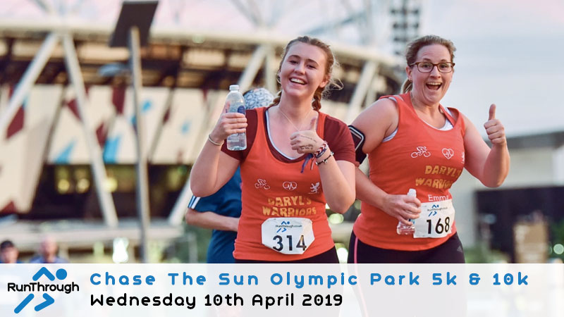 CHASE THE SUN OLYMPIC PARK APRIL 2019