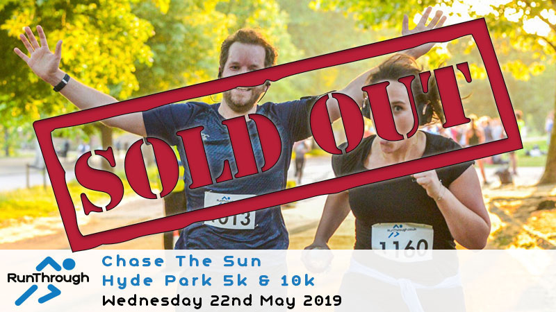 CHASE THE SUN HYDE PARK MAY 2019