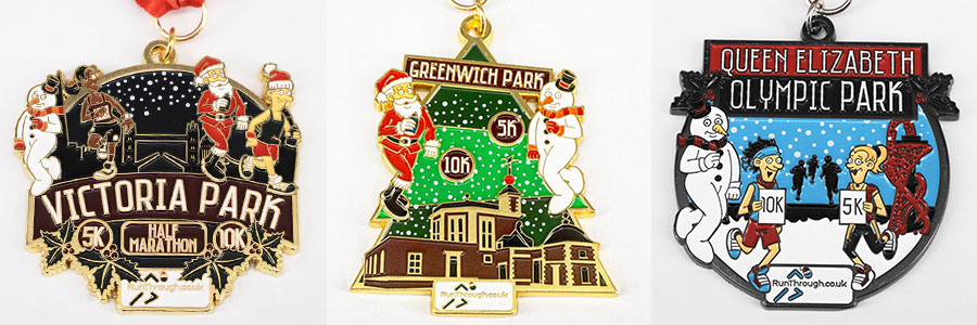 Christmas Run Park.Wimbledon Christmas Run 2019