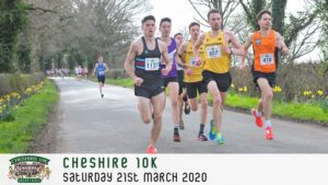 CHESHIRE 10k MARCH 2020