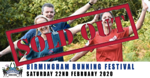 Birmingham Running Festival February 2020