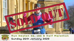 RUN HEATON 5K 10K HALF MARATHON JANUARY 2020