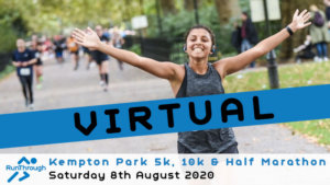 Virtual – Kempton Park 5k, 10k & Half Marathon August 2020
