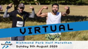 VIRTUAL – RICHMOND PARK HALF AUGUST 2020