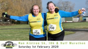 RUN AINTREE 5K 10K HALF MARATHON FEBRUARY 2020
