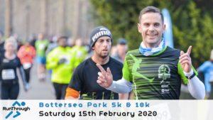 BATTERSEA PARK 5K 10K FEBRUARY 2020
