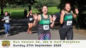 Run Heaton Park 5k, 10k & Half Marathon September 2020