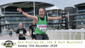 RUN AINTREE 5K 10K HALF MARATHON DECEMBER 2020