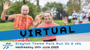 VIRTUAL – Drayton Theme Park Run 5k & 10k June 2020