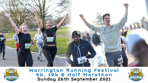 Warrington Running Festival 2021