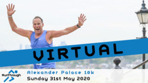 VIRTUAL – Alexandra Palace 10k May 2020