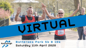 VIRTUAL – BATTERSEA PARK 5K 10K APRIL 2020