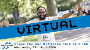 VIRTUAL – Chase The Sun Battersea Park 5k & 10k April 2020