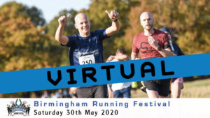 VIRTUAL – Birmingham Running Festival May 2020