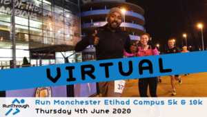 VIRTUAL – Run Etihad Campus 5k & 10k – June 2020