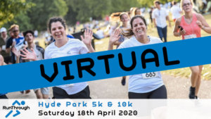 VIRTUAL – HYDE PARK 5K 10K APRIL2020