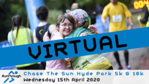 VIRTUAL – CHASE THE SUN HYDE PARK APRIL 2020