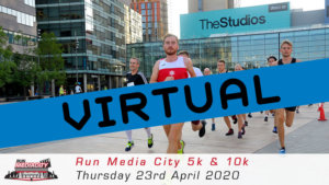 VIRTUAL – RUN MEDIA CITY 5K 10K APRIL 2020