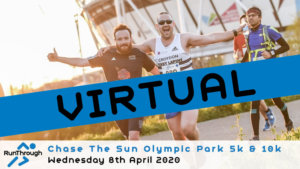VIRTUAL – CHASE THE SUN OLYMPIC PARK APRIL 2020