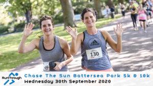 CHASE THE SUN BATTERSEA PARK 5K 10K SEPTEMBER 2020