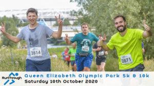 OLYMPIC PARK 5K & 10K OCTOBER 2020