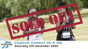 CLAPHAM COMMON 5K & 10K DECEMBER 2020