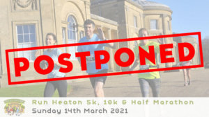 Run Heaton Park 5k, 10k & Half Marathon March 2021