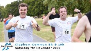 CLAPHAM COMMON 5K & 10K NOVEMBER 2020