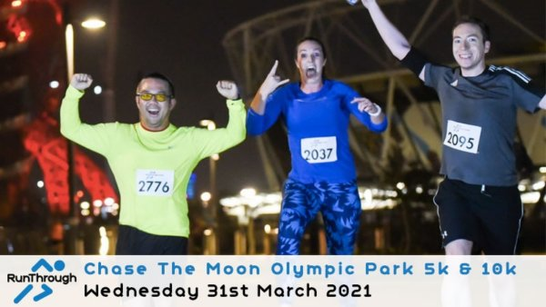 Enter the CTM Olympic Park Run March 2021