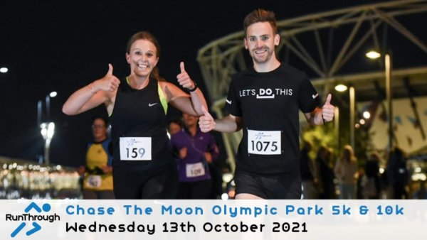 Enter the CTM Olympic Park Run October 2021