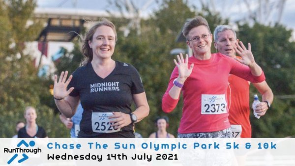 Enter the CTS Olympic Park Run July 2021