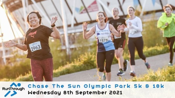 Enter the CTS Olympic Park Run September 2021