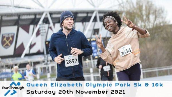 Enter the Olympic Park Run November 2021