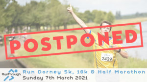 RUN DORNEY 5K, 10K & HALF MARATHON MARCH 2021