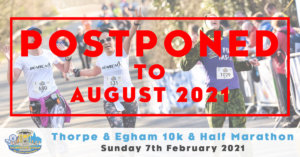 Thorpe and Egham 10k & Half Marathon 2021