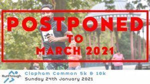 CLAPHAM COMMON 5K & 10K JANUARY 2021