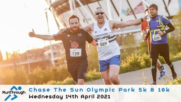 Enter the CTS Olympic Park Run April 2021