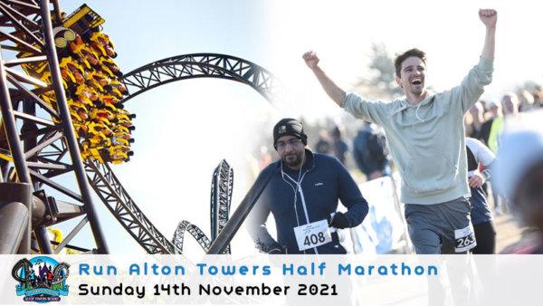 Run Alton Towers Half Marathon 2021
