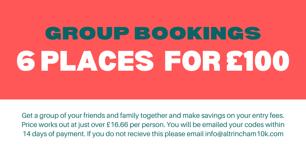 Altrincham Group Booking