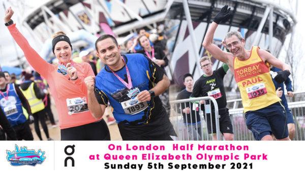 Queen Elizabeth Olympic Park Half Marathon 2021