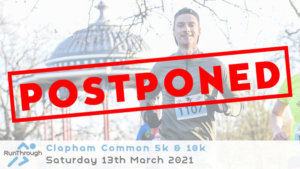 CLAPHAM COMMON 5K & 10K MARCH 2021