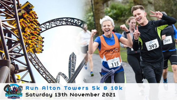Run Alton Towers 5k & 10k 2021