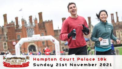 Hampton Court Palace 10k November 2021